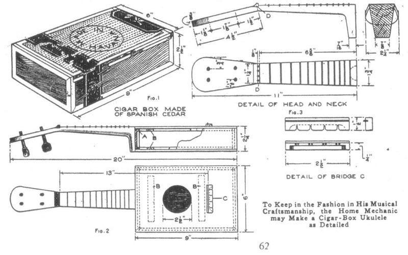 Cigar Box Plans