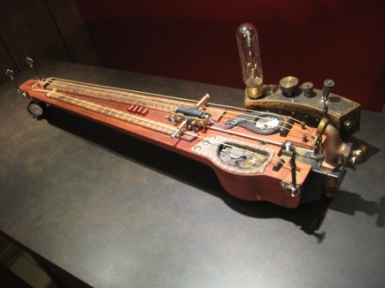 7D9887 Steampunk Guitar